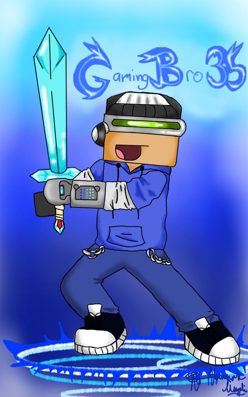 GamingBro35 by Melomiku