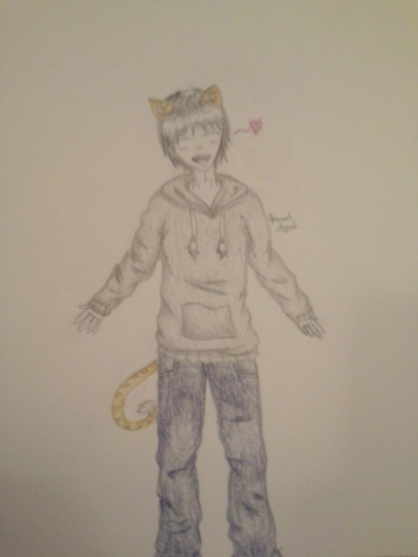 Gift: Want a hug? by Melomiku