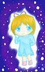 Gift: Moonie in the night sky