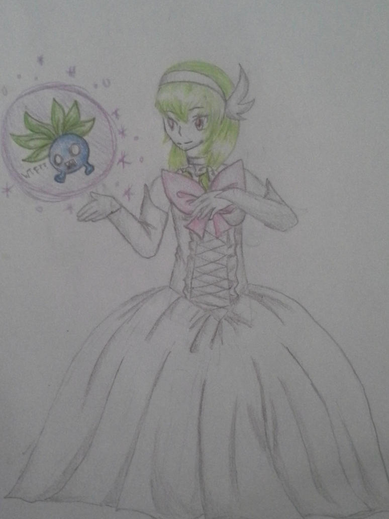 CE: Bellany as Mega Gardevoir by Melomiku