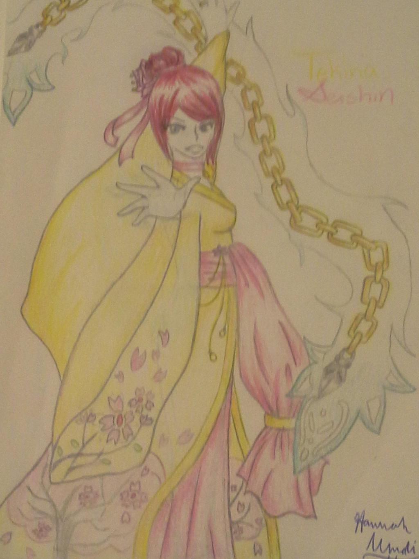 Tekina's not a bystander by Melomiku
