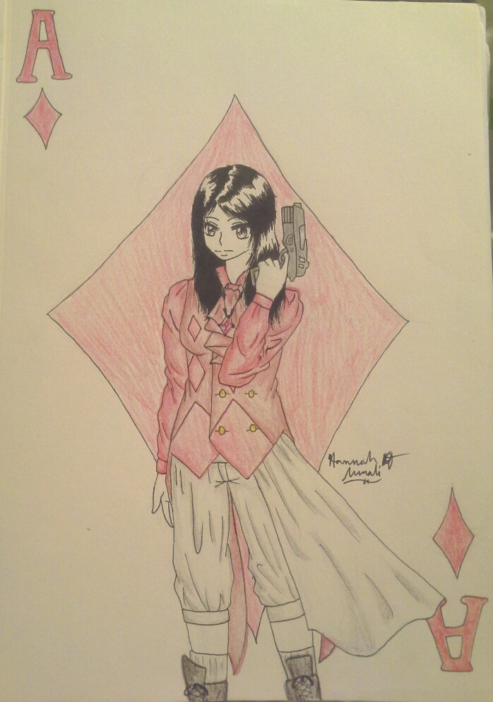 Me as the ace of diamonds by Melomiku
