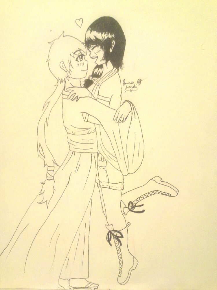 Bellany and Bukku: I love you! by Melomiku