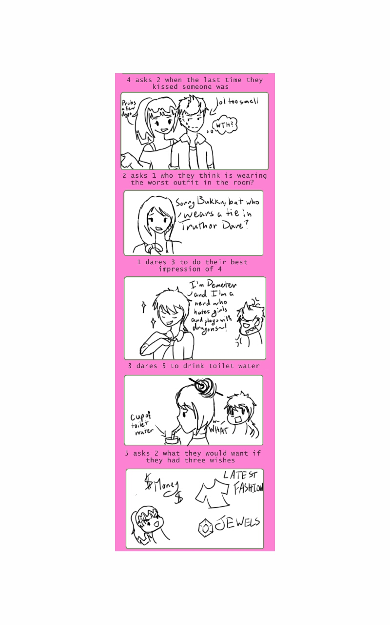 Truth or Dare meme part 2 by Melomiku