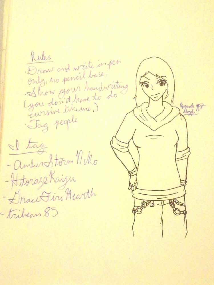 Pen meme by Melomiku