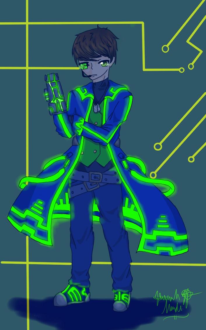 Cybergunner by Melomiku