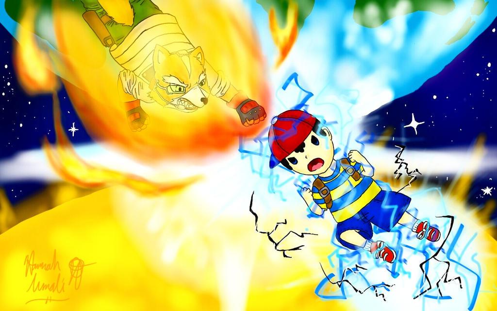 Fox Fire vs. PK Thunder by Melomiku