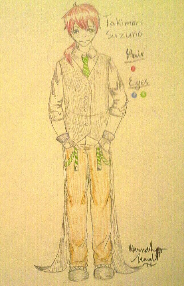 Soul Eater partner OC by Melomiku