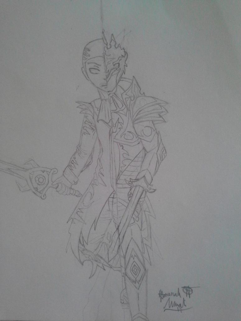Momoku Uirusu's Armour by Melomiku