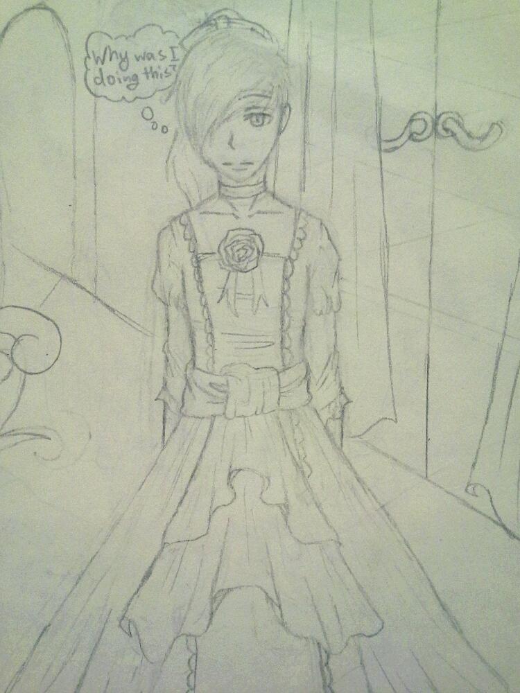 Sneak Peek Story of Evil: Baba wears a dress! by Melomiku