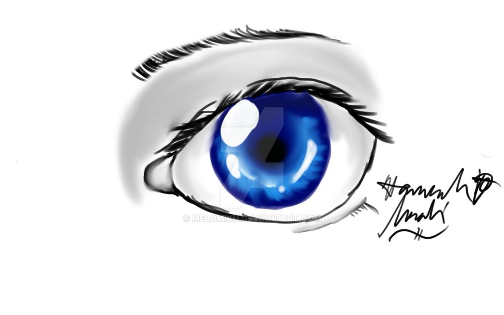 Eye dunno by Melomiku