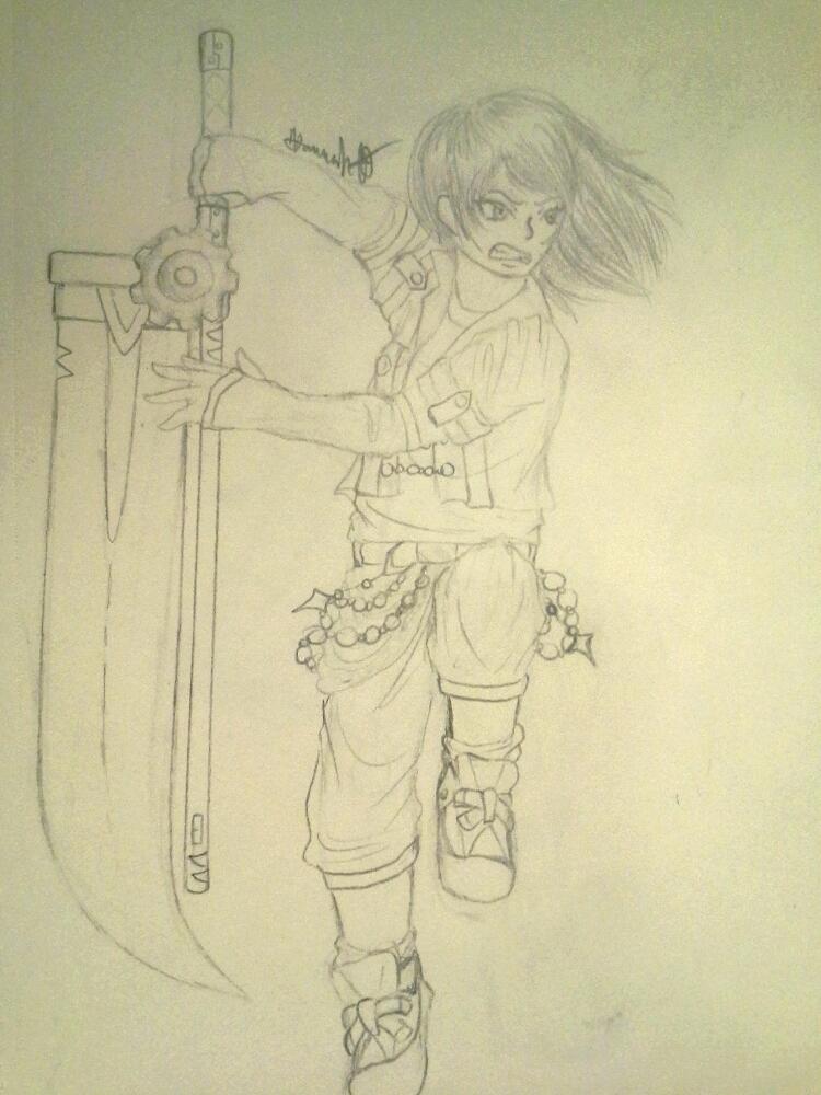 I'MMA SLAP YOU WITH MAH SWORD by Melomiku