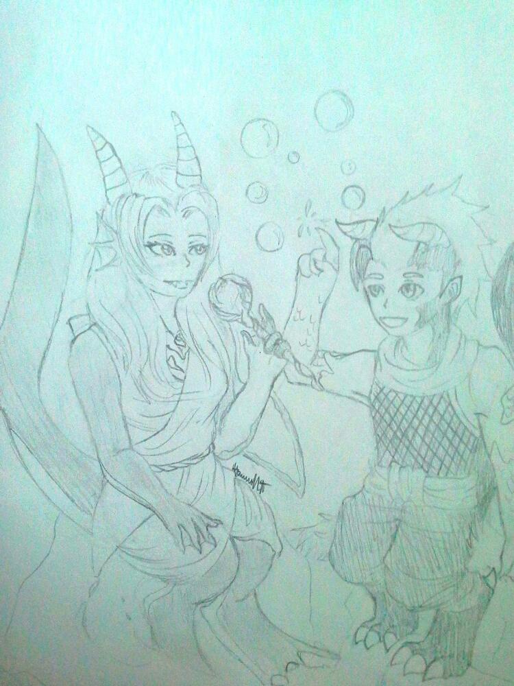 Bubbles! by Melomiku