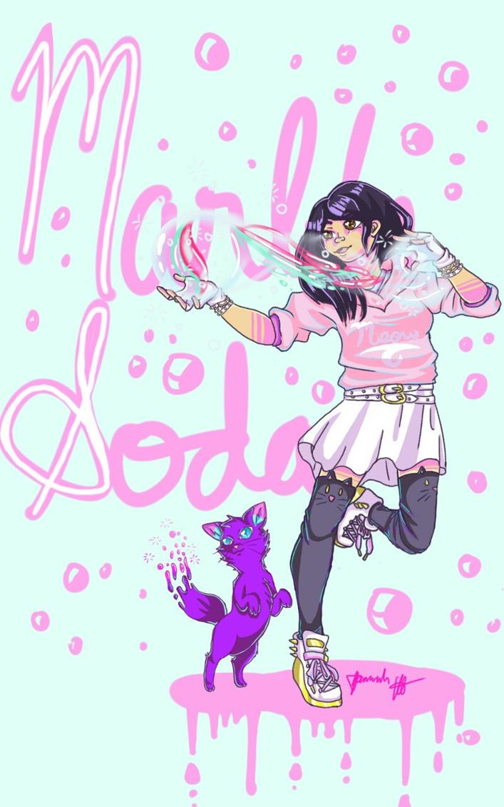 Marble Soda by Melomiku