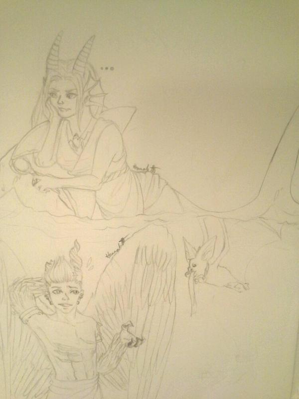 Dergins sketch by Melomiku