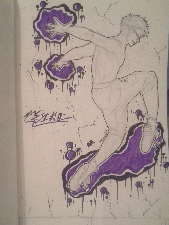 .:New Year's Graffiti:. Psychic by Melomiku