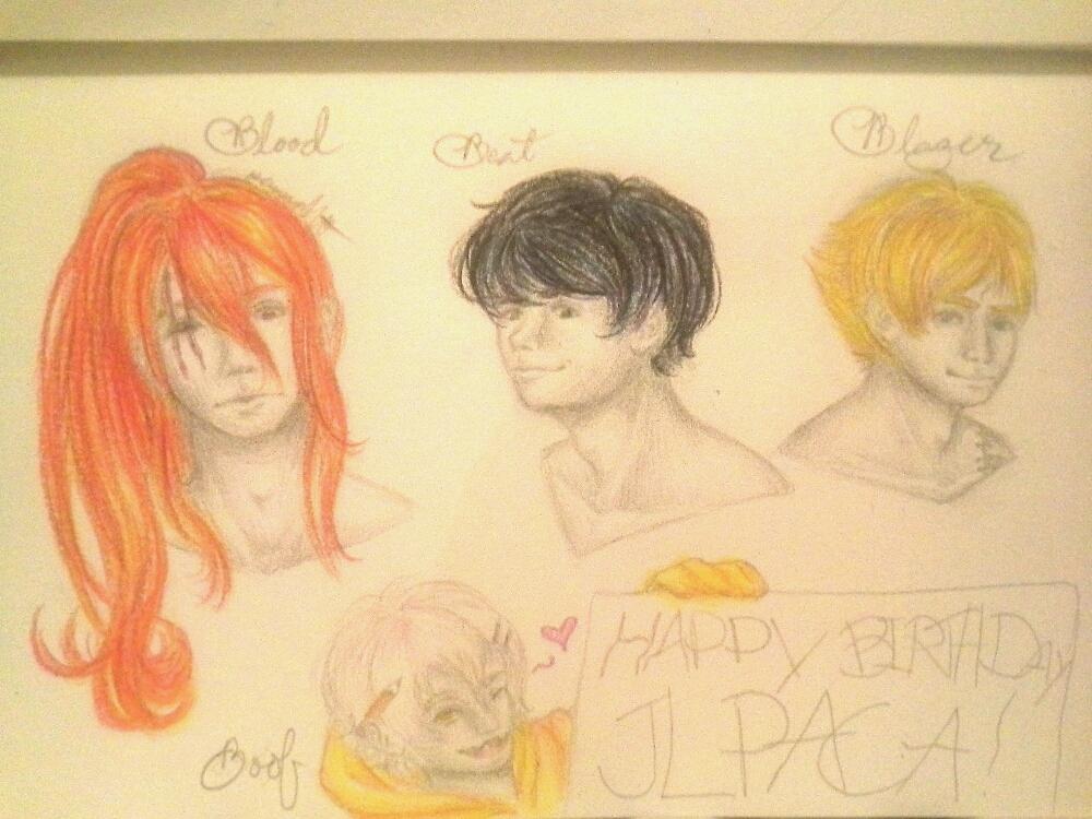 .:Gift:. Happy Birthday JLpaca! by Melomiku