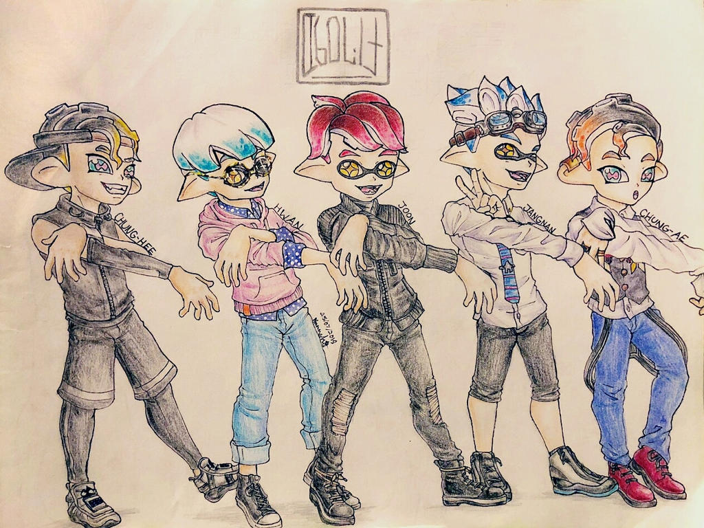 Splatoon Fan Characters:  Beyond the Ink by Melomiku on