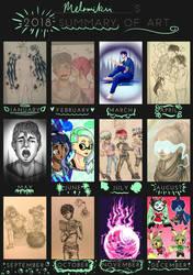 2018 Art Summary by Melomiku