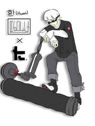 .:Splatoon Fan Characters:. Hwan x Toni Kensa by Melomiku