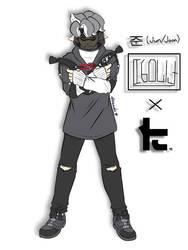 .:Splatoon Fan Characters:. Joon x Toni Kensa by Melomiku