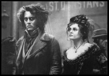 Johnny Depp and Helena Bonham Carter by FredrikEriksson1