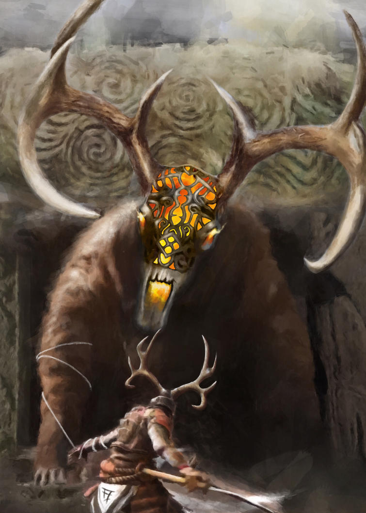 The horned god by FredrikEriksson1