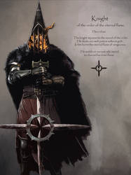 Knight of the order of the eternal flame