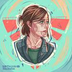 Ellie- The last of us fanart