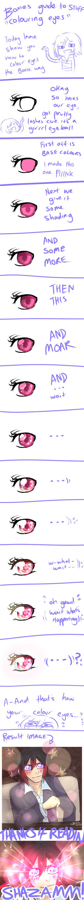 Boxie Tutorial: Colouring Eyes