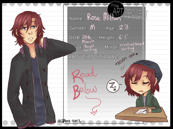 TA-P: Rose Milton by Little-Miss-Boxie