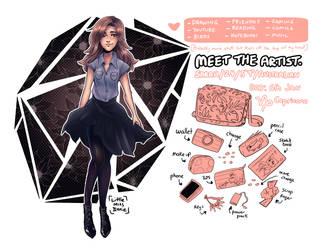 #MeettheArtist by Little-Miss-Boxie