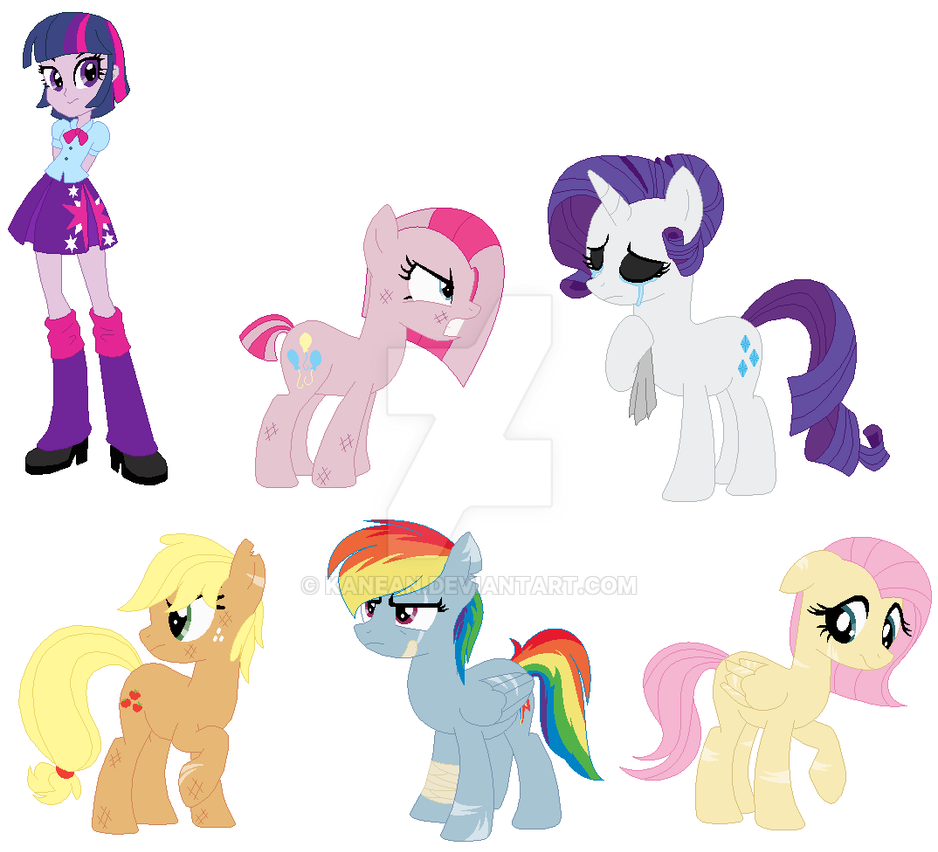 Toys For 7 And Up Mane Provided : Mlp au by kanean on deviantart