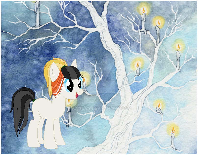 Chirstmas Pony Adopt - Day 9  - open by Kanean