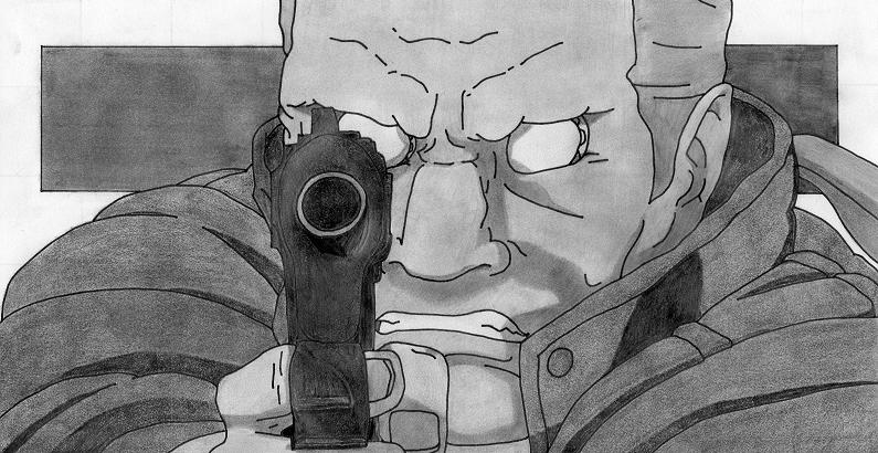 Batou Ghost In The Shell By Zuoci On Deviantart