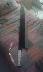 Ichigo's sword by LilyVi