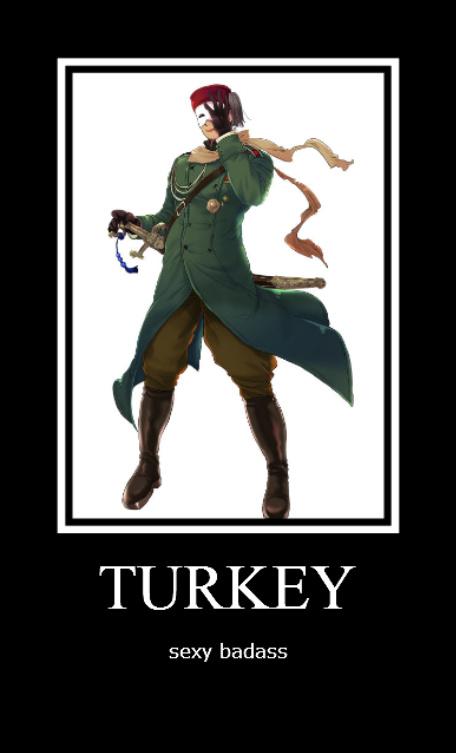Turkey - sexy badass by Sasunarusasu4eva