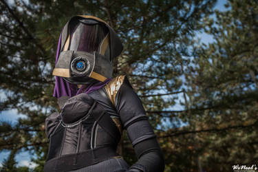 Tali'zorah vas Normandy by Chauncaaa
