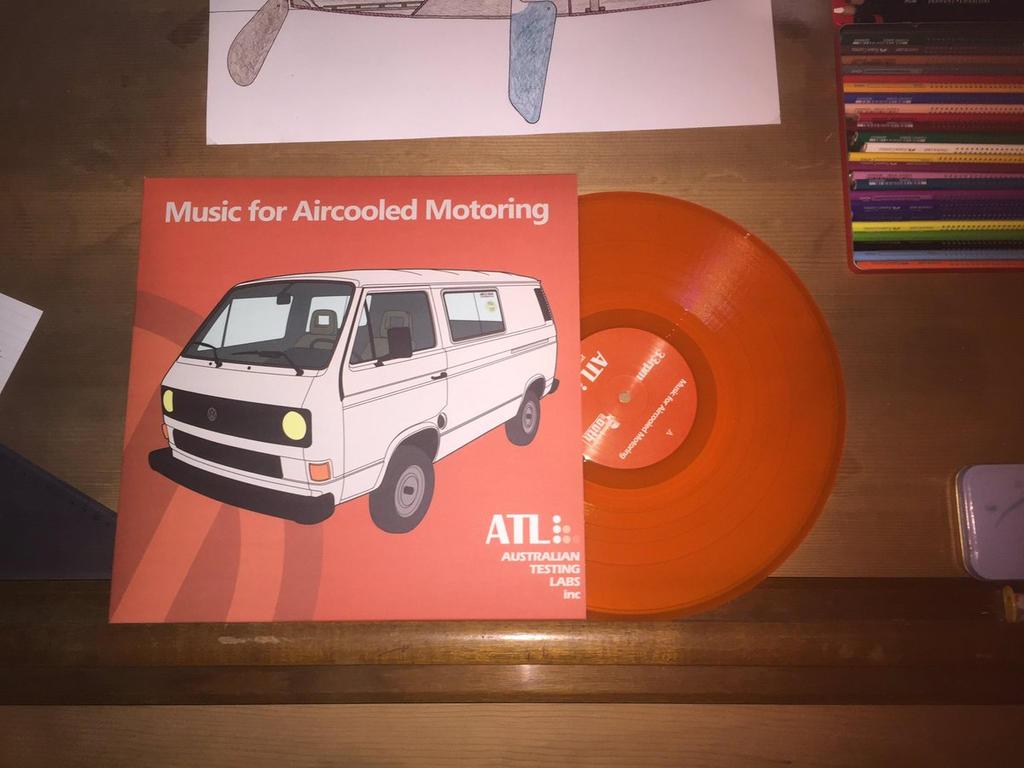 Album Art - Music for Aircooled Motoring by ATL by matt-g-ellis