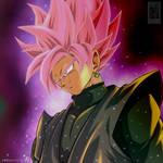 The Beautiful Rose Super Saiyan Rose Goku Black