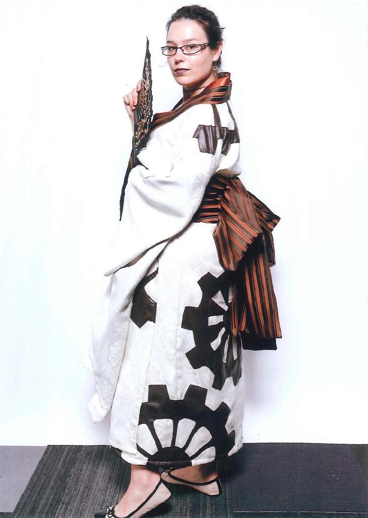 Steampunk Geisha by Sleepingvelvet