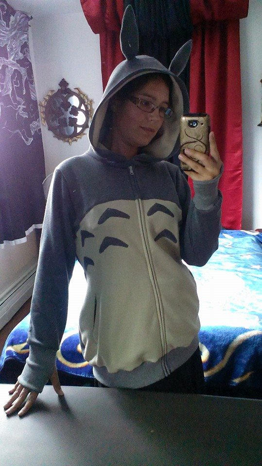 Totoro Hoodie by Sleepingvelvet