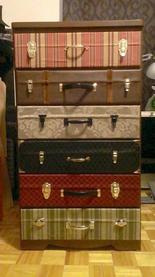 Suitcase Drawer by Sleepingvelvet