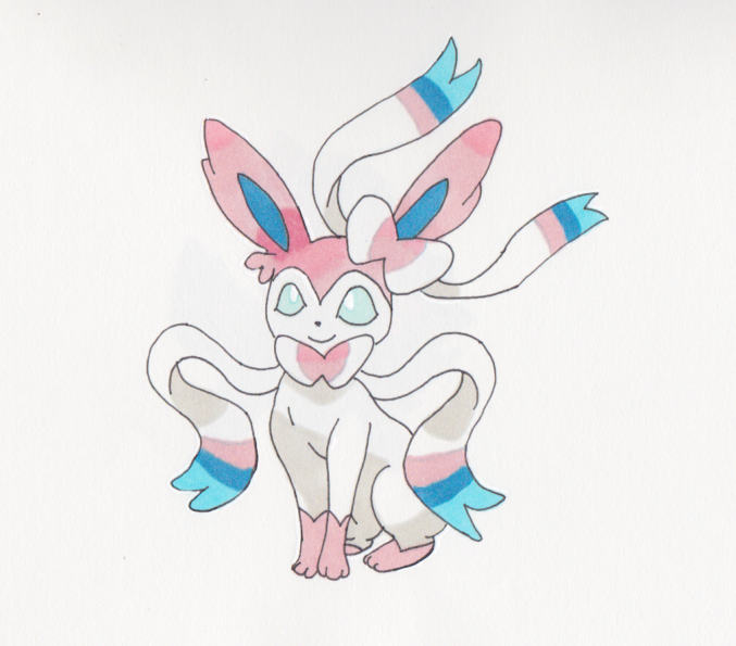 Pokemon Sylveon And Froakie Images | Pokemon Images