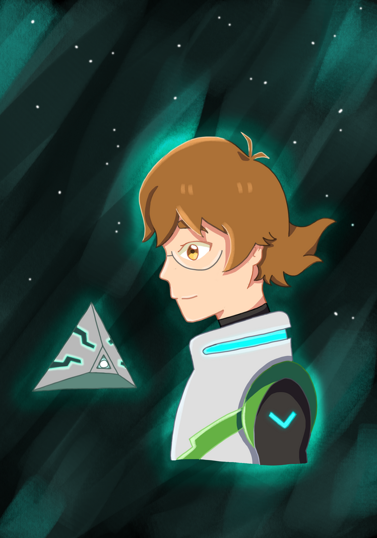 Pidge Gunderson - The Green Paladin (Voltron) by lonelystarlight