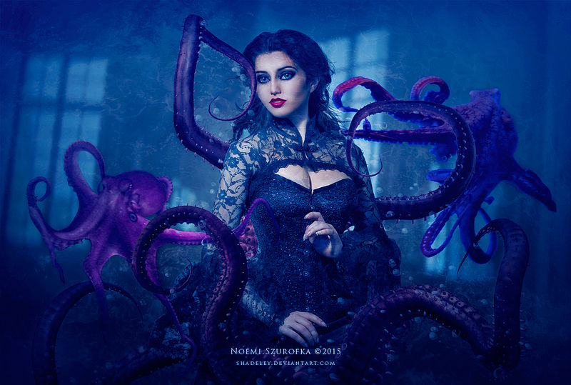 The Tentacle Temptress by shadeley