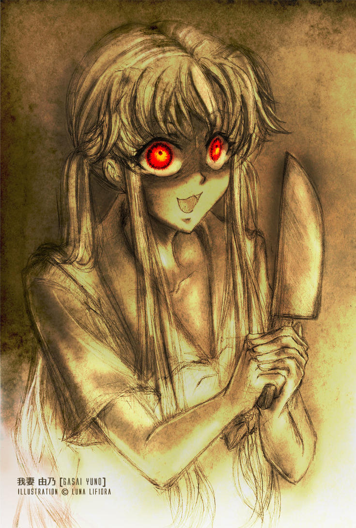 Gasai Yuno: Obsessive Affection