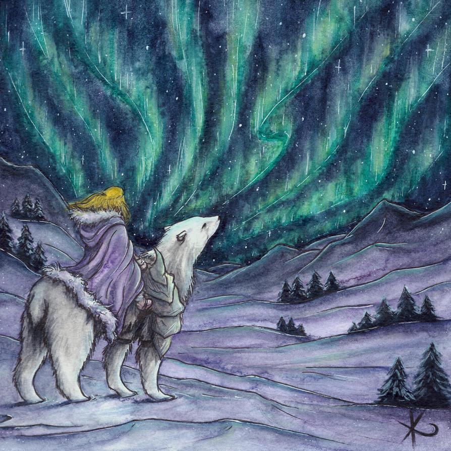. Northern Lights . by Dark-Unik0rn