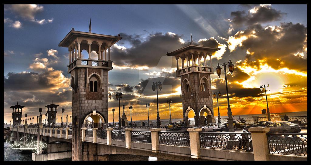 Stanly Bridge Alexandria by Yehiazz