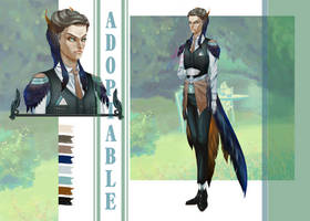 Auction (OPEN) Adoptable 3 by VioletThread